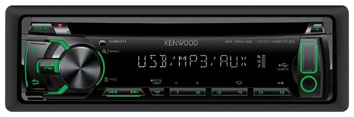 Автомагнитола KENWOOD KDC-3457UQ