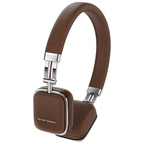 Беспроводные наушники Harman/Kardon Soho Wireless коричневый по цене 6 729