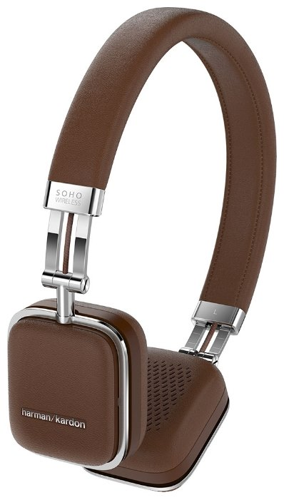 Наушники Harman/Kardon Soho Wireless коричневый