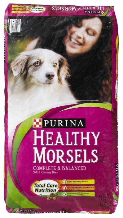 Корм для собак DOG CHOW Healthy Morsels ягненок 14.51 кг