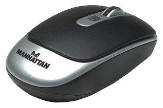 Мышь Manhattan Wireless Laser Mouse MLXL 177474 Black-Silver USB