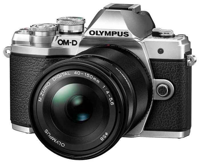 Olympus Фотоаппарат со сменной оптикой Olympus OM-D E-M10 Mark III Kit