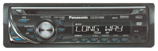 Panasonic CQ-DX100W