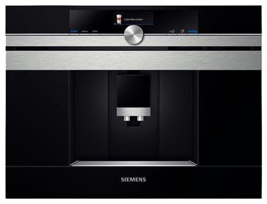 Встраиваемая кофемашина Siemens CT 636LES1
