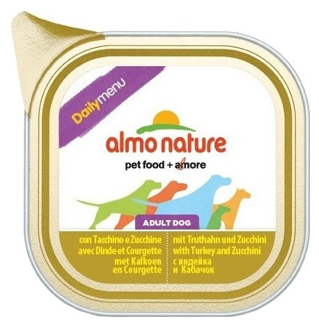Корм для собак Almo Nature Daily Menu индейка с цукини 300г