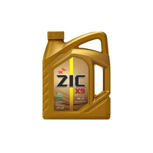 Фото - Моторное масло ZIC X9 LS DIESEL 5W-40 4 л моторное масло zic x9 ls 5w 30 4 л