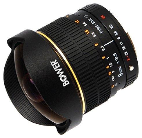 Bower 8mm f/3.5 Nikon F