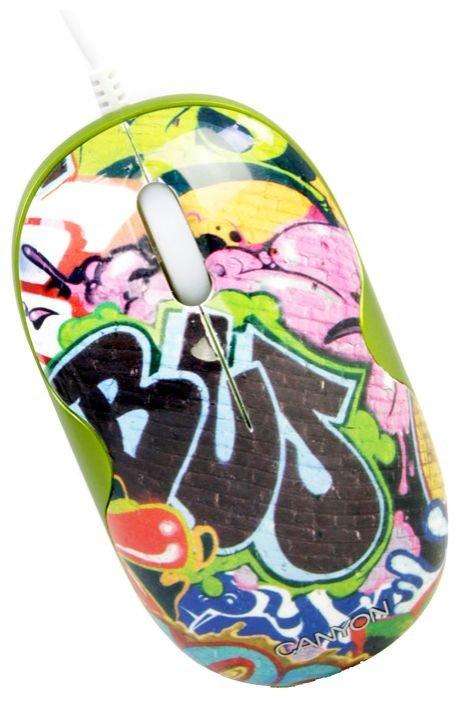 Мышь Canyon CNL-MSD03A USB
