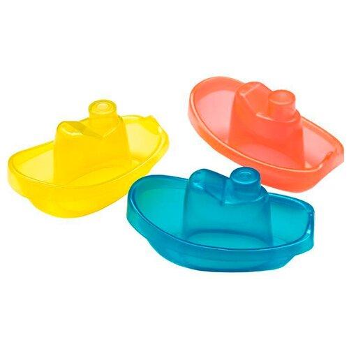 Набор для ванной Playgro Bright Baby Boats (0183454) красный/желтый/синийИгрушки для ванной<br>