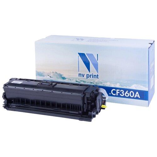 Фото - Картридж NV Print CF360A для HP, совместимый картридж nv print q7551x для hp совместимый