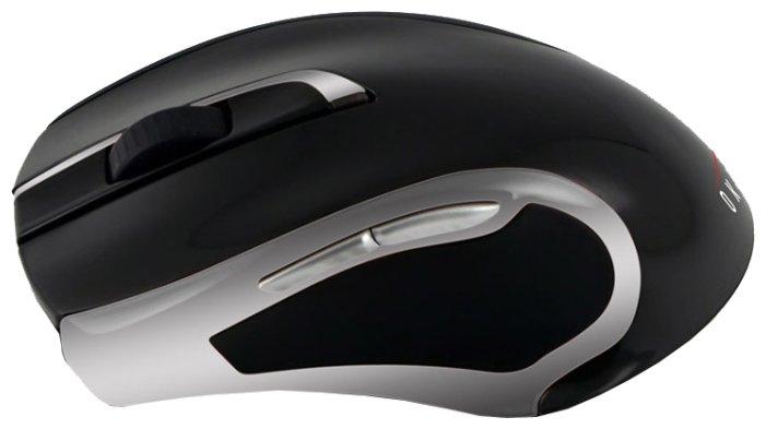 Мышь OKLICK 620 LW Wireless Optical Mouse Black-Silver USB