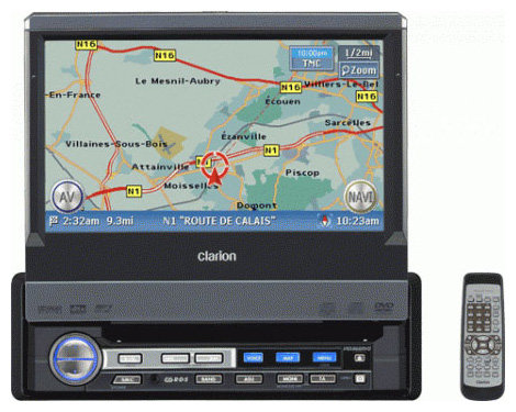 Автомагнитола Clarion VRX868RVD