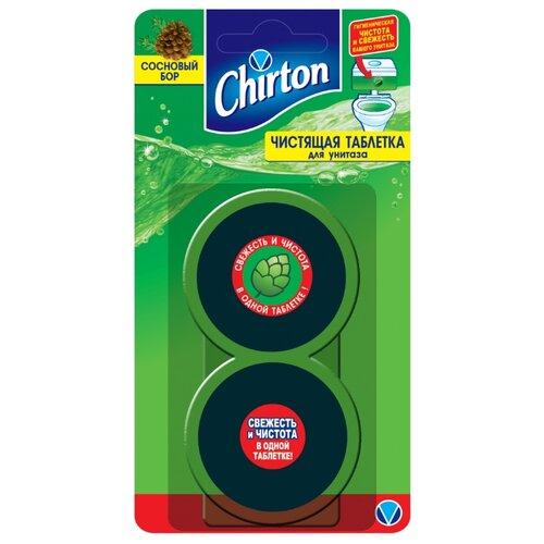 Chirton таблетка для унитаза Сосновый бор 0.05 кг 2 шт.Для кафеля, сантехники и труб<br>