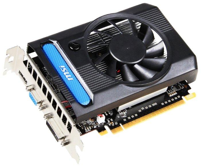 MSI GeForce GT 640 902Mhz PCI-E 3.0 4096Mb 1782Mhz 128 bit DVI HDMI HDCP