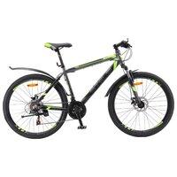 "Велосипед Для Взрослых Stels Navigator 600 Md 26 V020 (2018) 18"" Антрацитовый/лайм"
