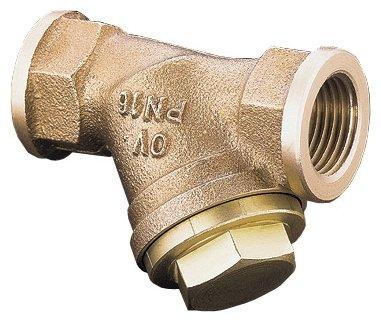 Фильтр механической очистки oventrop PN 16 муфтовый (ВР/ВР), бронза, со сливом