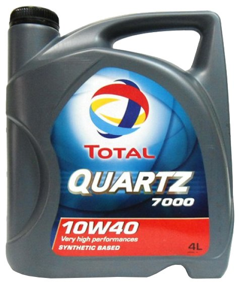 Total Quartz 7000 10W-40, 4 л