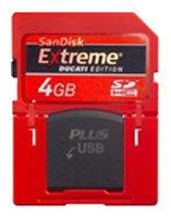 Карта памяти SanDisk Extreme Ducati Edition SD Plus