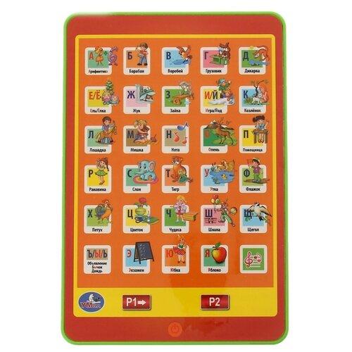 Планшет Умка Азбука А. Барто 82015R оранжевый/зеленый планшет умка новогодняя азбука hx82015 r31 синий желтый