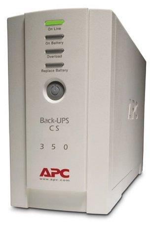 Резервный ИБП APC by Schneider Electric Back-UPS BK350EI