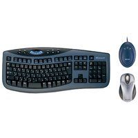 Клавиатура и мышь Microsoft Wireless Optical Desktop 3000 Black-Blue USB