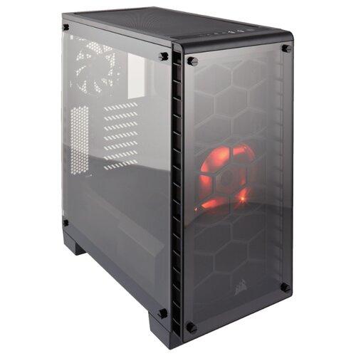 Купить Компьютерный корпус Corsair Crystal Series 460X Black