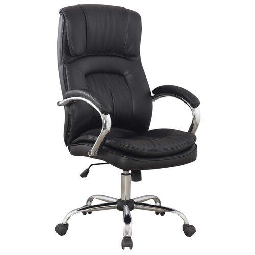 Компьютерное кресло College BX-3001-1 для руководителя, обивка: искусственная кожа, цвет: черный