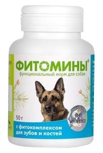 Витамины и добавки Фитомины для собак для Костей, 50гр, 50 гр