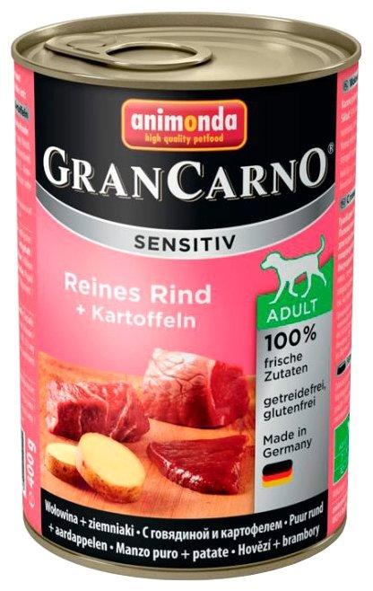 Корм для собак Animonda GranCarno говядина с картофелем 400г