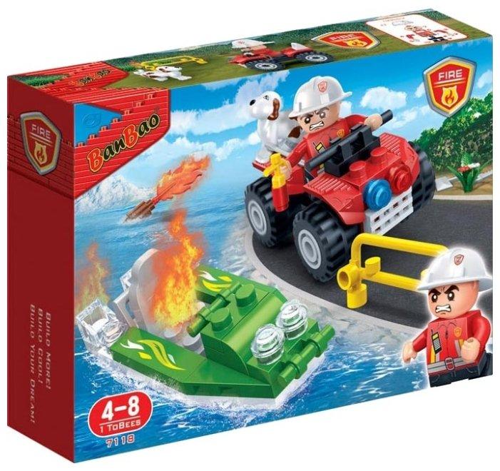 Классический конструктор BanBao Пожарные 7118