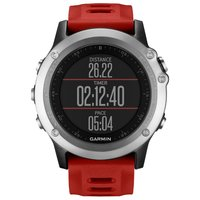 Умные часы Garmin Fenix 3 silver (red) HRM