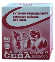 Витамины Сева СЕВАвит для котят 60 шт.