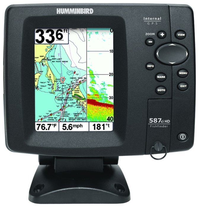 Эхолот Humminbird 587ci HD Combo