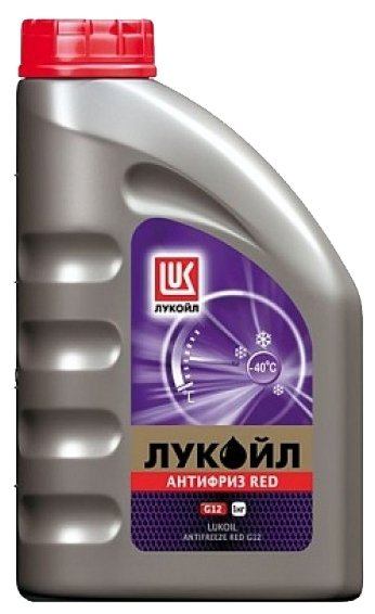 Антифриз ЛУКОЙЛ G12 Red, 1 кг