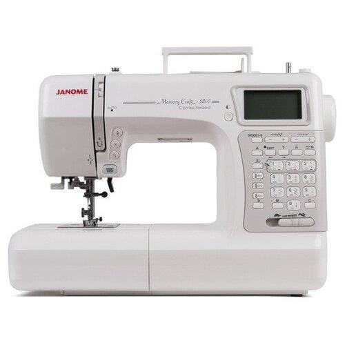 Швейная машина Janome Memory Craft 5200, белый