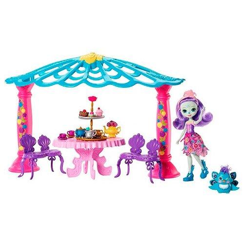 Купить Игровой набор Mattel Enchantimals - Чаепитие Пэттер Павлины и Флэпа FRH49, Игровые наборы и фигурки