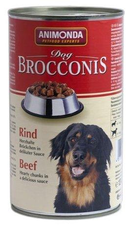 Корм для собак Animonda Brocconis Dog говядина 1.24 кг (для крупных пород)