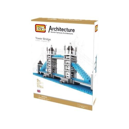 Конструктор LOZ Architecture 9371 Тауэрский мост