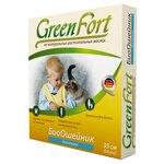 GreenFort БиоОшейник от блох для кошек 35 см