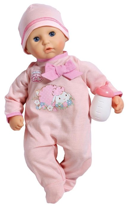 Кукла Zapf Creation Baby Annabelle с бутылочкой 36 см 794-463