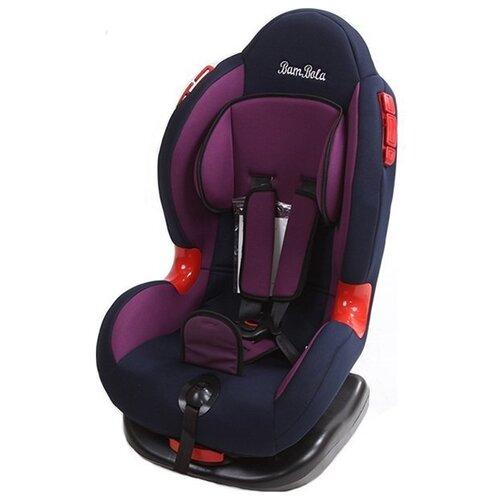 Фото - Автокресло группа 1/2 (9-25 кг) BamBola Navigator, фиолетовый/синий автокресло группа 0 1 до 18 кг bambola bambino темно синий бежевый