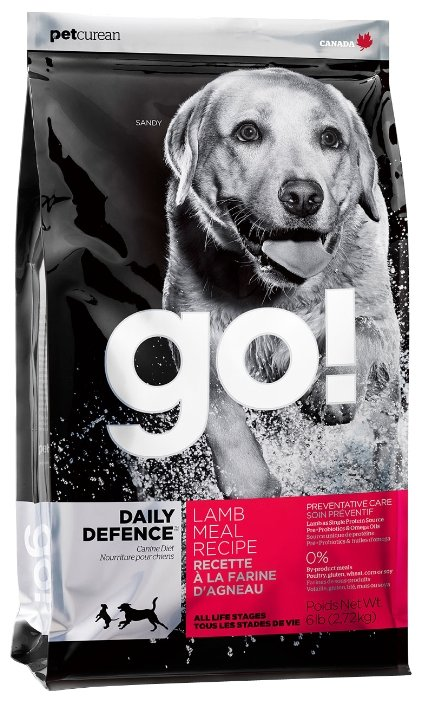 Корм для собак GO! Daily Defence ягненок 230г