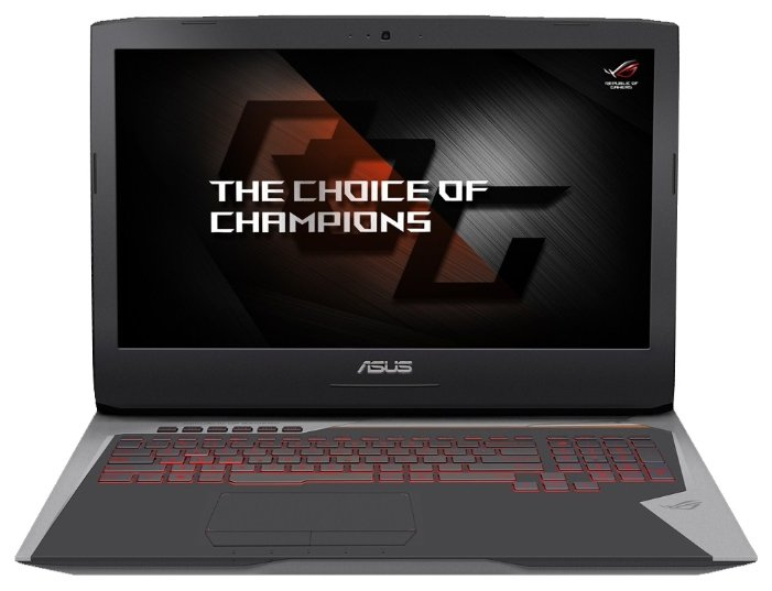 "Ноутбук ASUS ROG G752VS (Intel Core i7 7700HQ 2800 MHz/17.3""/3840x2160/16Gb/1256Gb HDD+SSD/DVD-RW/NVIDIA GeForce GTX 1070/Wi-Fi/Bluetooth/Windows 10 Home)"