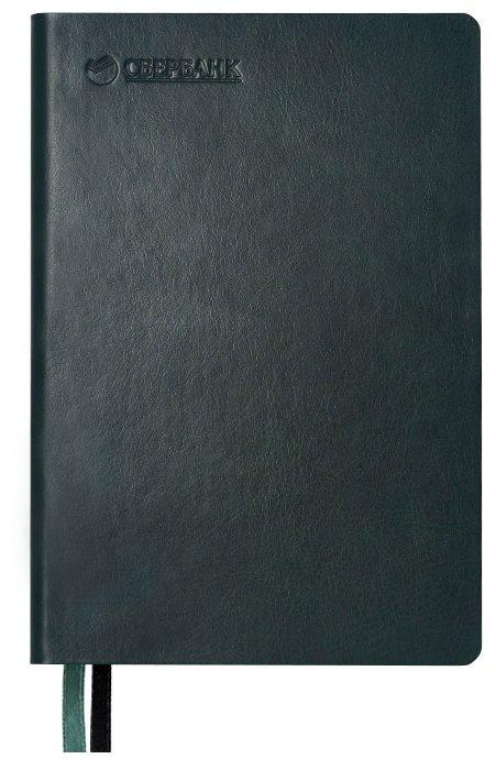Ежедневник недатированный Portobello Trend 256 стр. темно-зеленый