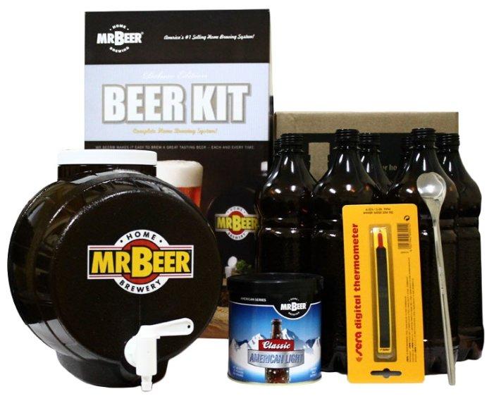 Мини-пивоварня Mr.Beer Premium Kit,