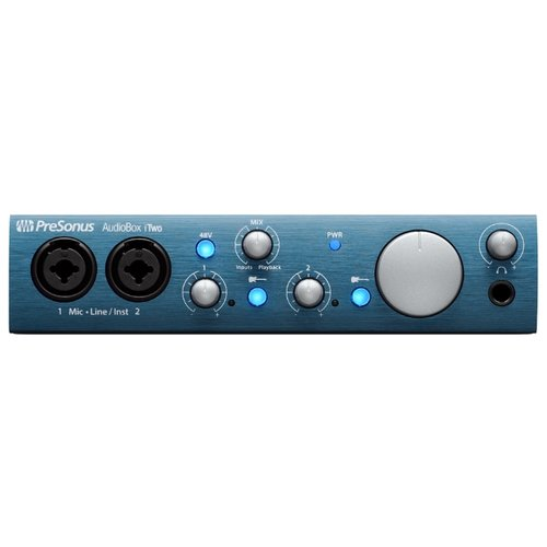 Внешняя звуковая карта PreSonus AudioBox iTwo аудиоинтерфейс presonus audiobox usb 96 25th anniversary edition