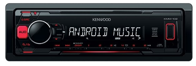 Автомагнитола KENWOOD KMM-102RY