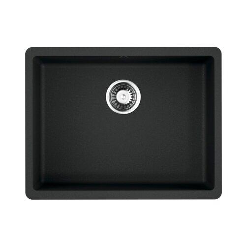 Врезная кухонная мойка 54 см OMOIKIRI Kata 54-U 4993410 черный