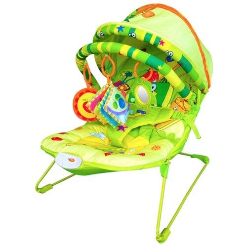 Шезлонг La-Di-Da Фруктовый рай BR90009-1 зеленыйКачели, шезлонги<br>