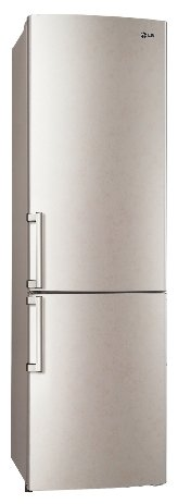 Холодильник LG GA-B489ZECL бежевый